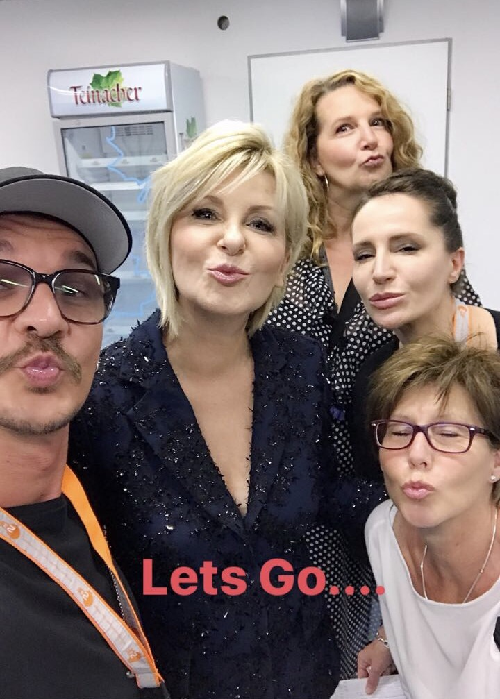 Willkommen Bei Carmen Nebel Make Up Look Serena Goldenbaum Beauty Cosmetics